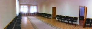 Зал для занятий, где будет постелено татами.
